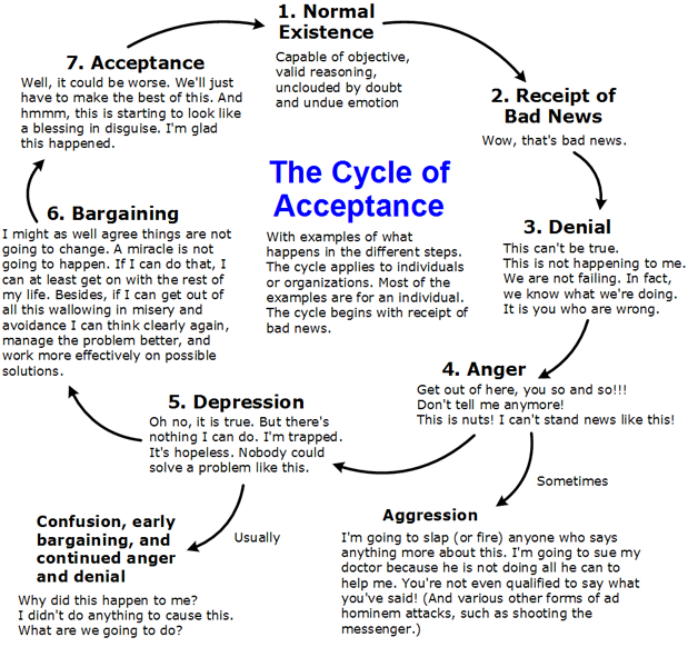cycle of acceptance diagrams health organization for. Black Bedroom Furniture Sets. Home Design Ideas